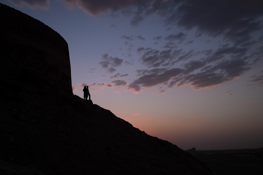 Sunset near Yazd - Iran
