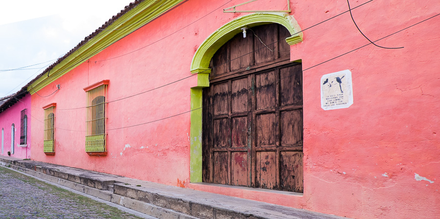 Suchitoto buildings