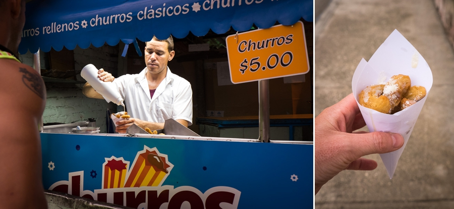 cuban junk food - churros