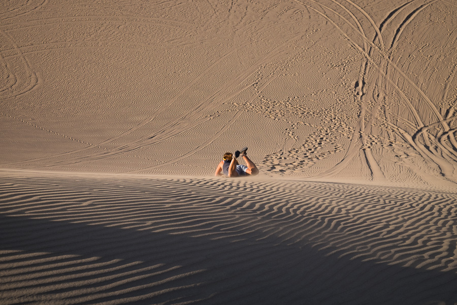 Huacachina - Sand Boarding