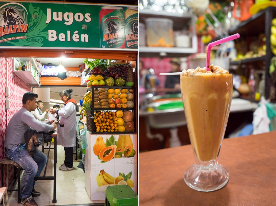 Jugo multivitamina - Bolivian Food