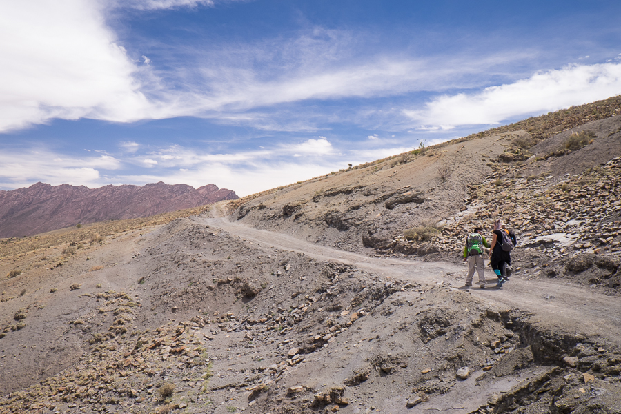 In search of Dinosaur Footprints, Sucre, Bolivia