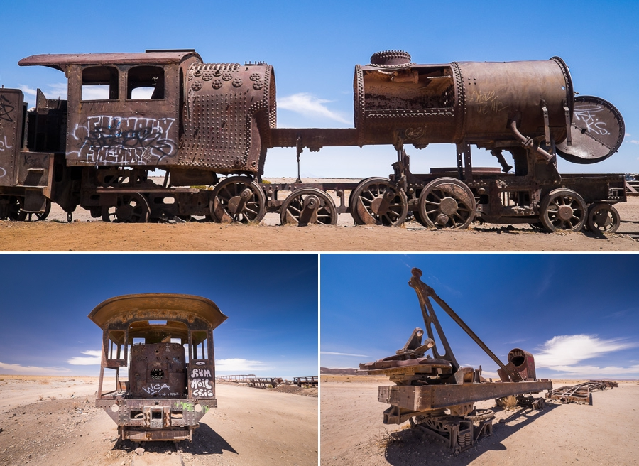 Train Graveyard - Uyuni - Bolivia