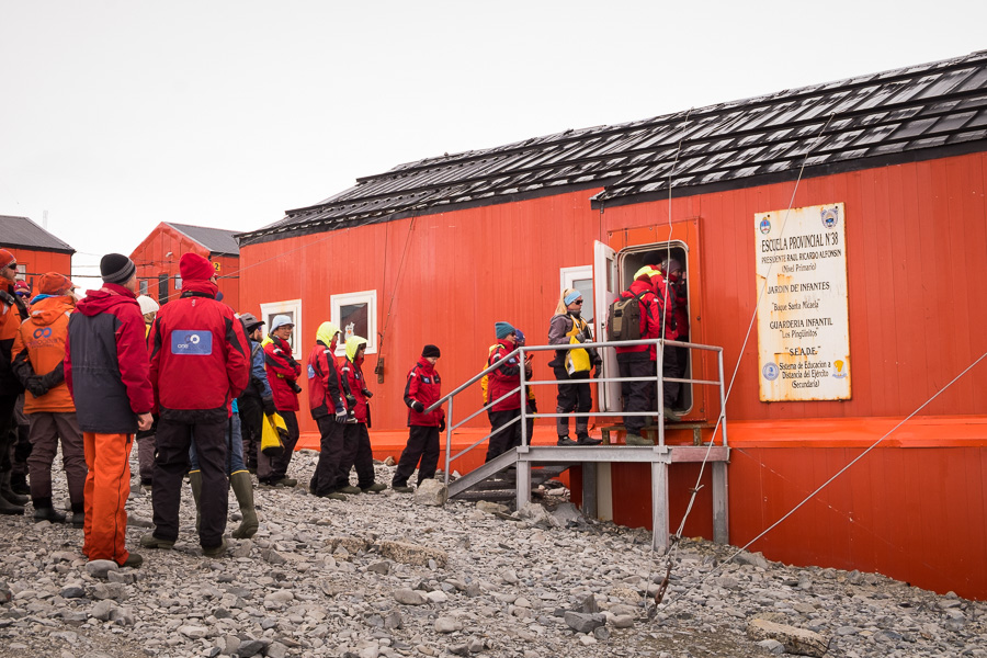 School House at Esperanza Station - Antarctic Peninsula