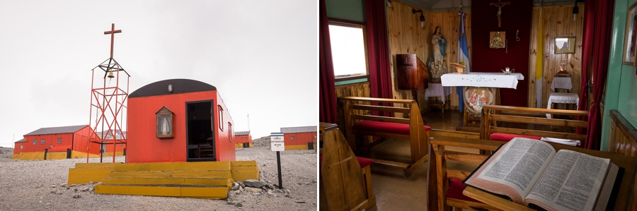 Church - Esperanza Station - Antarctic Peninsula