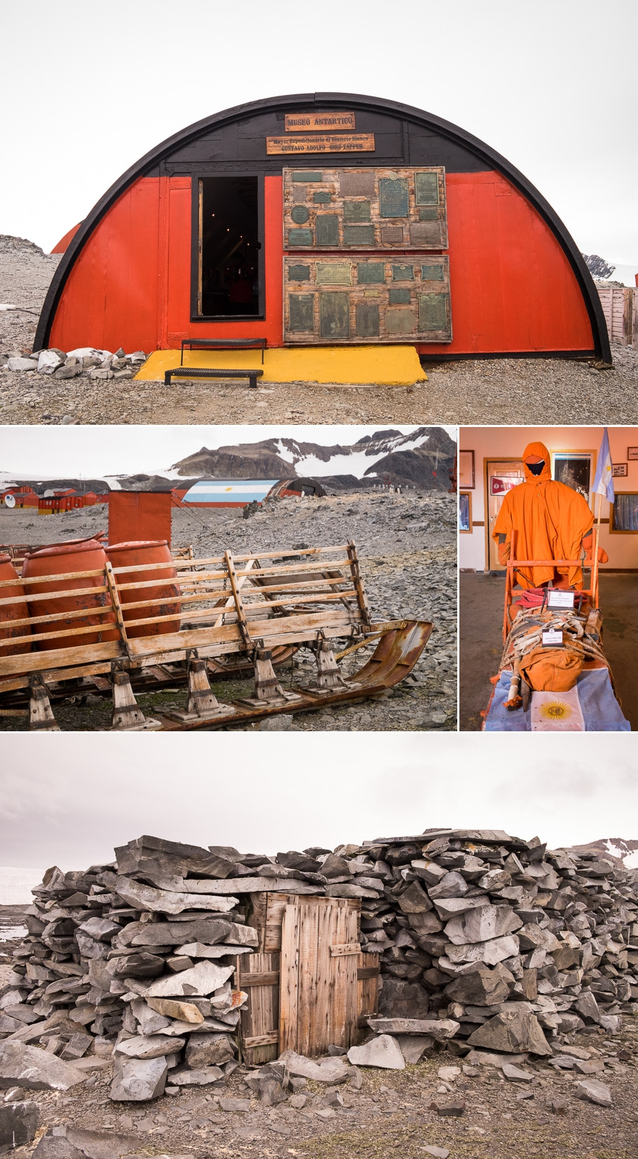 Memorabilia and museum - Esperanza Station - Antarctic Peninsula