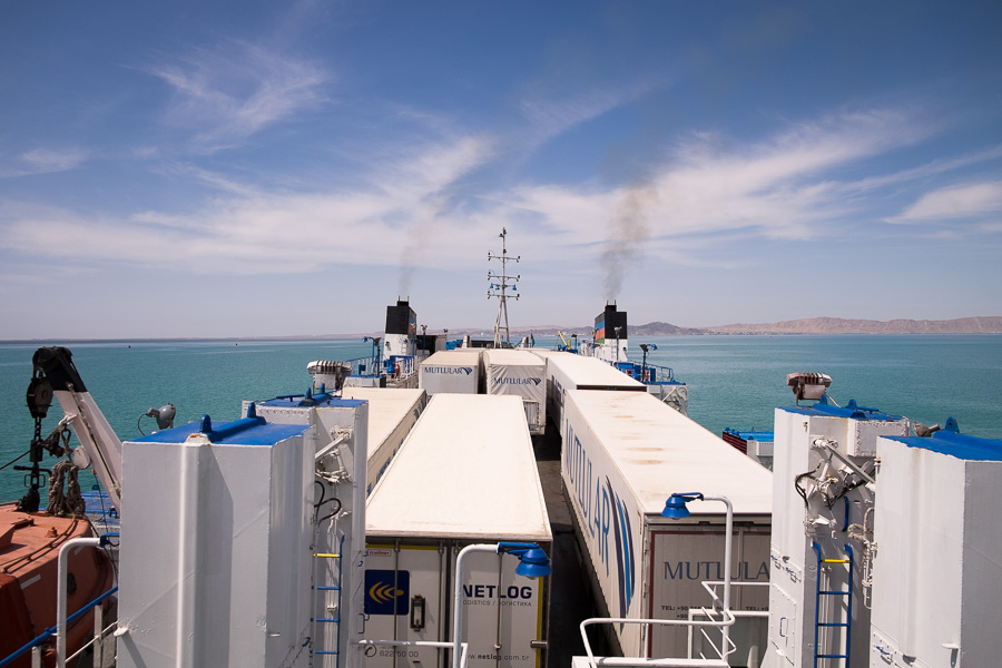 Ferry - Caspian Sea