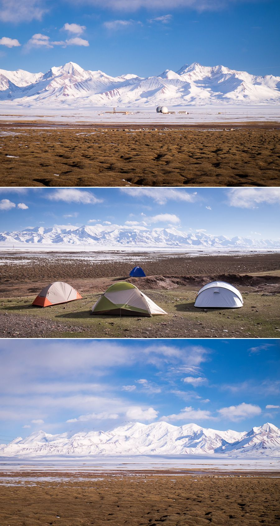 Kyrgyzstan - camping on the Pamir Highway