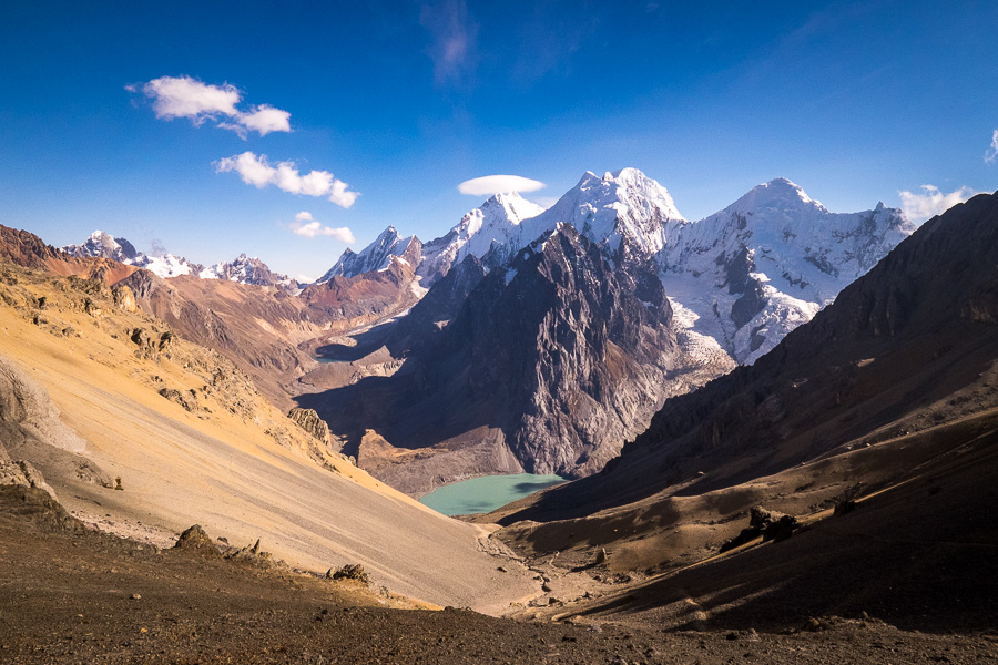 Highest point on the Huayhuash Trek