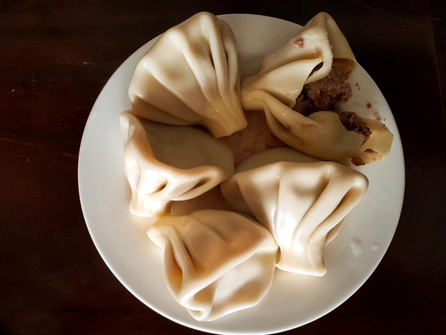 Khinkali - Georgian food - Georgia
