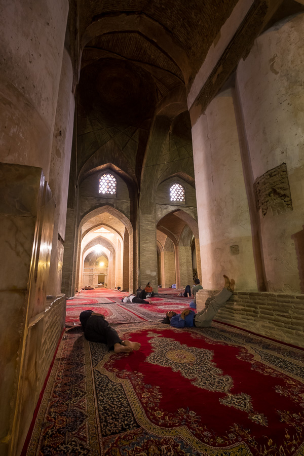 South Dome Men's Prayer room - Jameh Mosque of Esfahan
