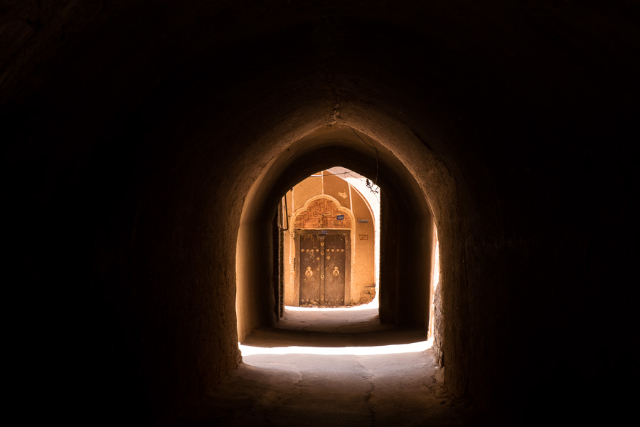 arches and shadows - Yazd old town - Iran