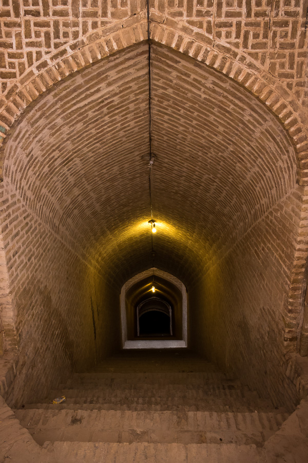 Passage to the Underground - Yazd - Iran