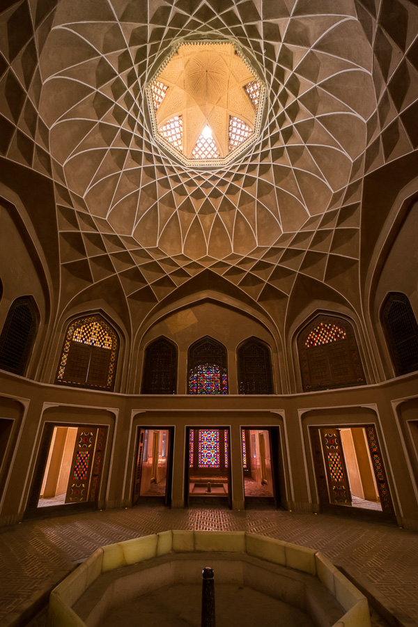 Under the Badgir - Dowlatabad Garden - Yazd - Iran