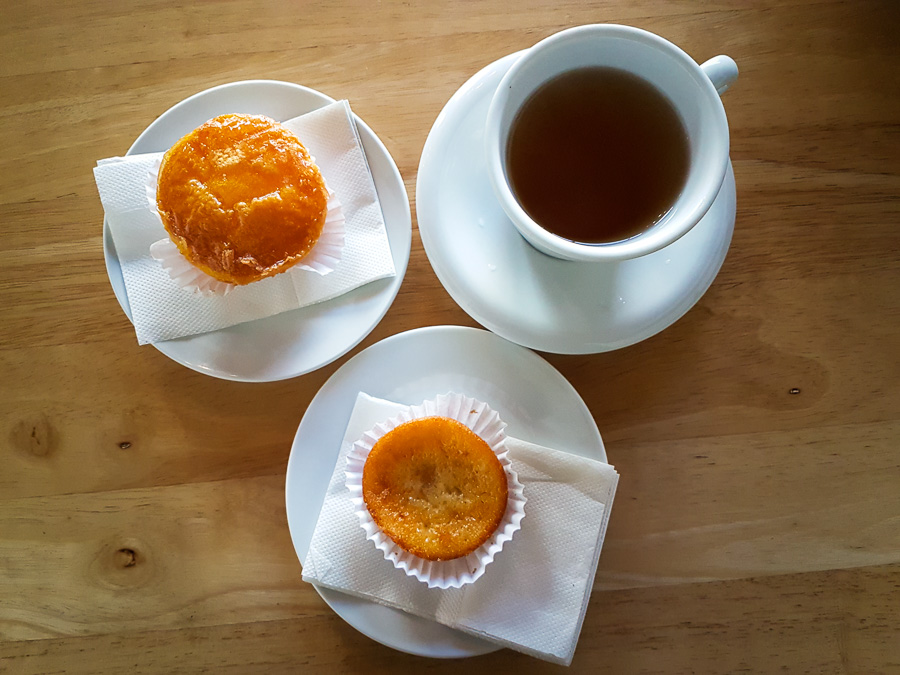 Queijadas and tea - Azores - Portugal