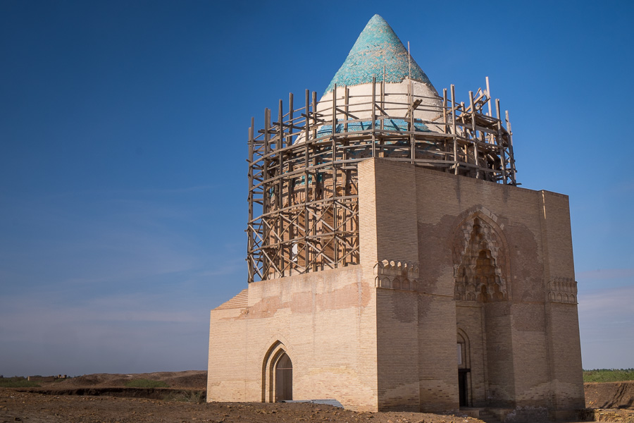 Mausoleum of Sultan Tekesh - Konye Urgench-Turkmenistan