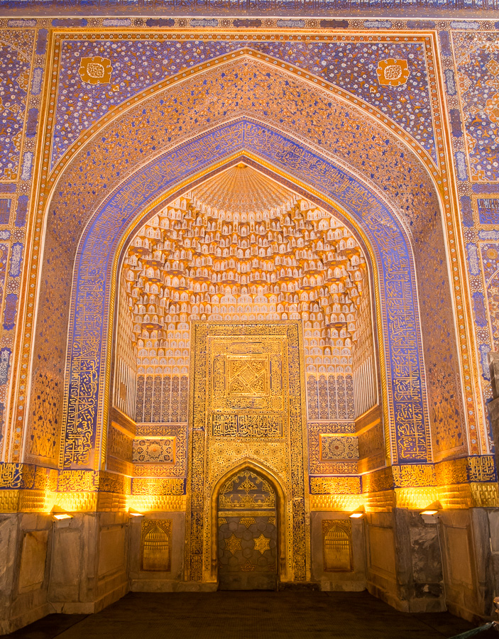 Tilla-Kari Mosque - The Registan - Samarkand - Uzbekistan