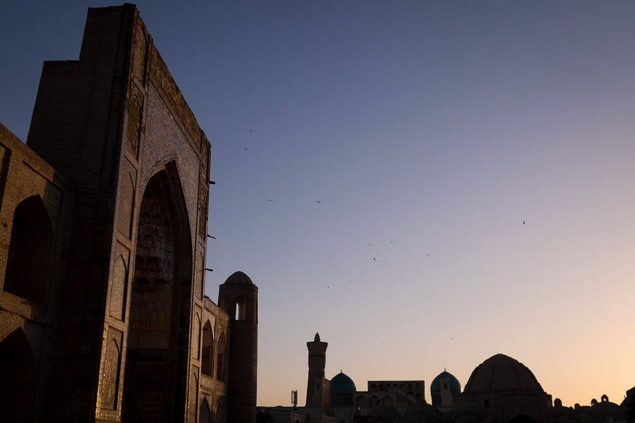 Madrassah at sunset - Bukhara - Uzbekistan