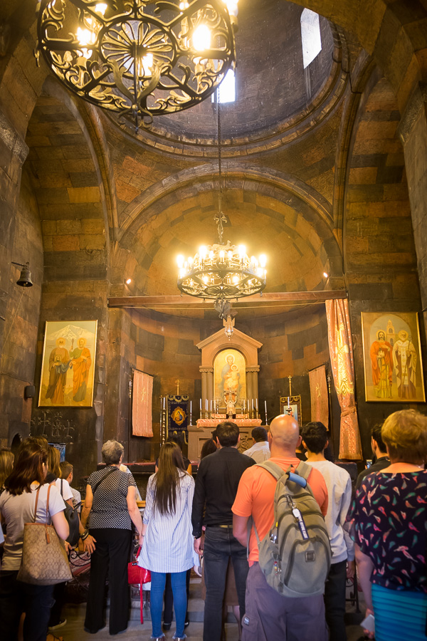 Mass at Khor Virap - Armenia