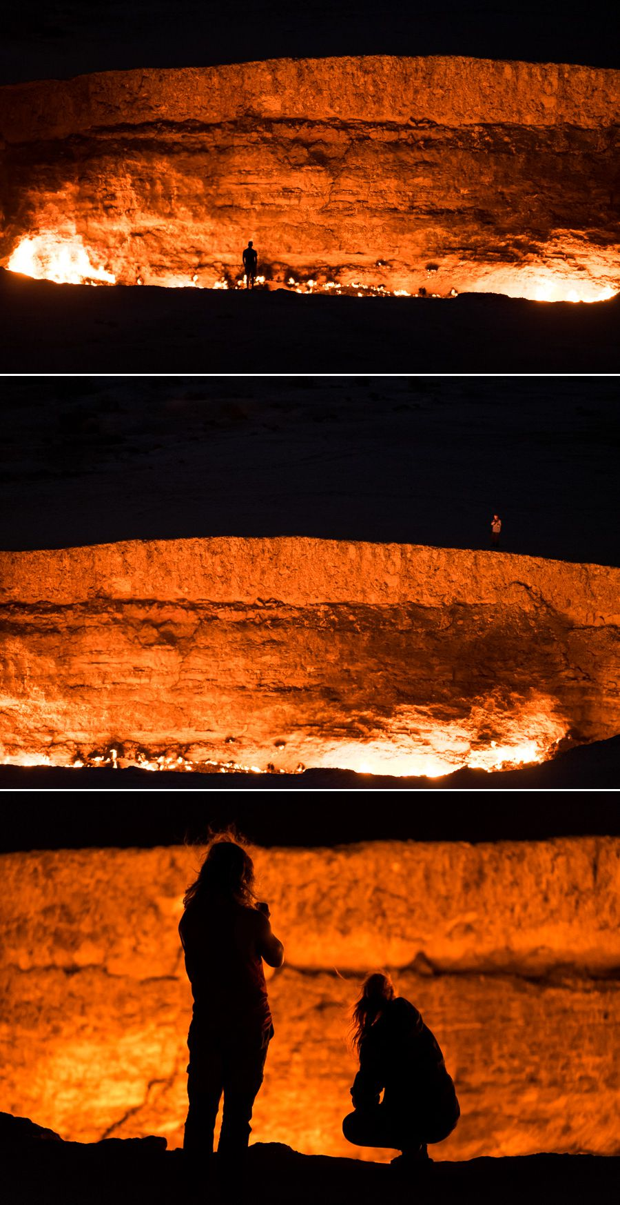 Darvaza crater - the Door to Hell -Turkmenistan