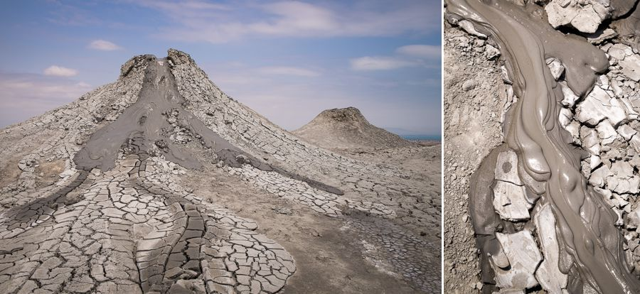 Mud volcanoes - Azerbaijan