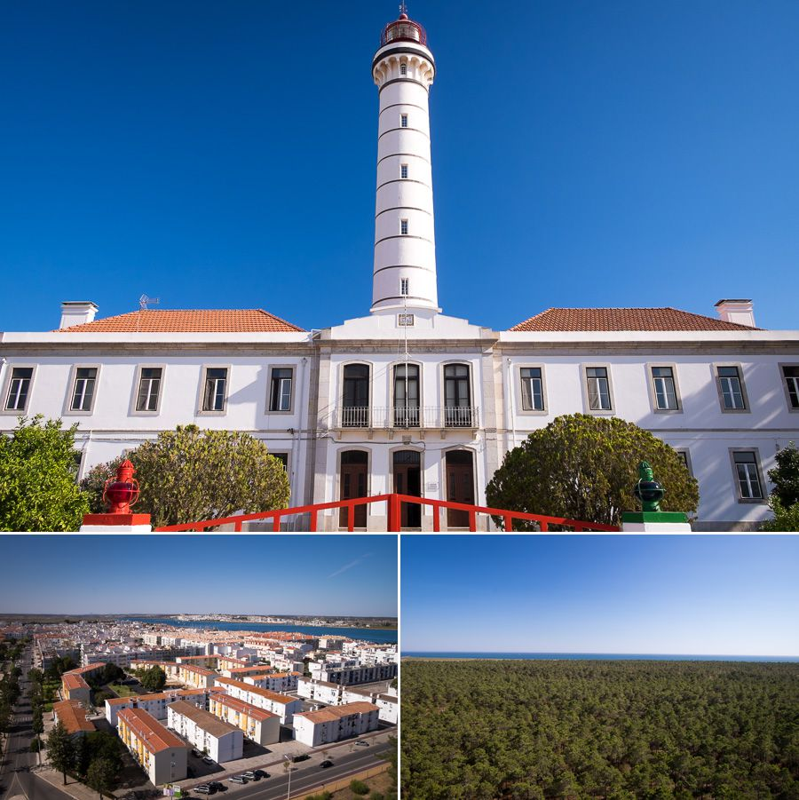 Vila Real de Santo António lighthouse - Algarve - Portugal