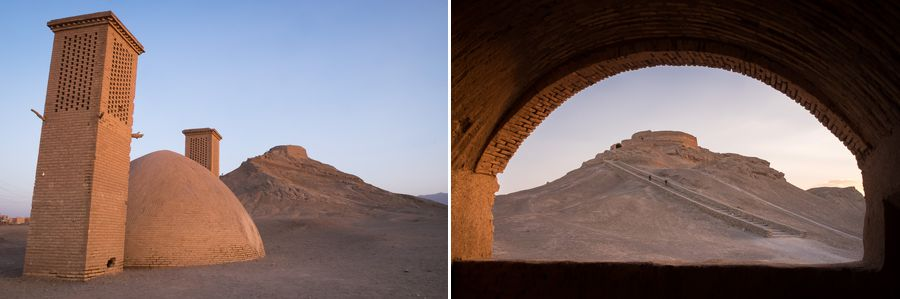 Zoroastrian Towers of Silence - Yazd - Iran