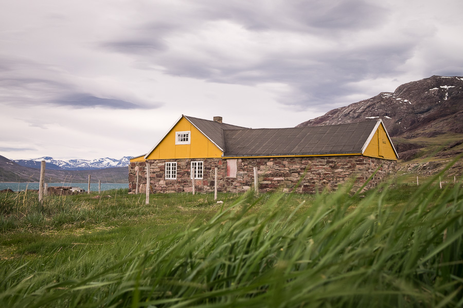Stone houses - Igaliku - South Greenland