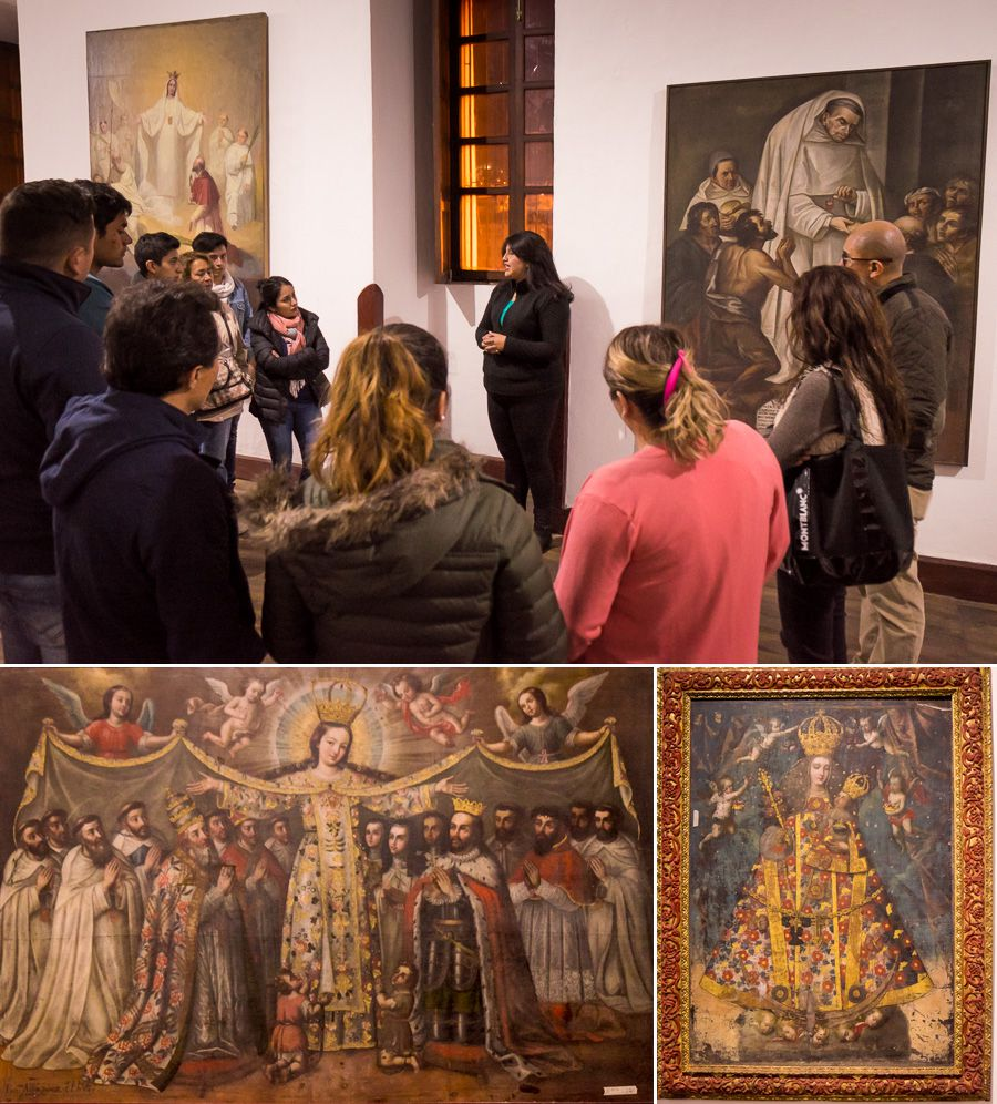Religious art Museum at El Tejar Convent - Quito