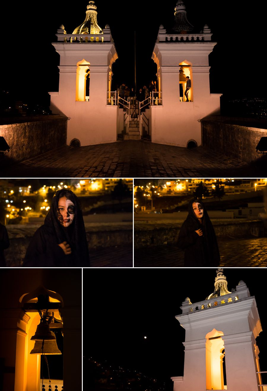 Leyendas Nocturnas on the roof - El Tejar - Quito