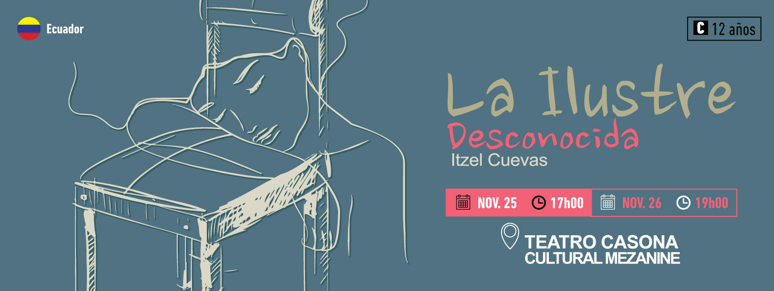 Banner for La Ilustre Desconocida