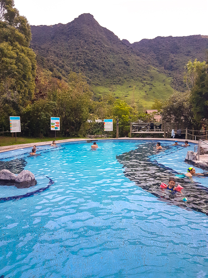 Balneario at the Termas de Papallacta Hot Springs - Ecuador