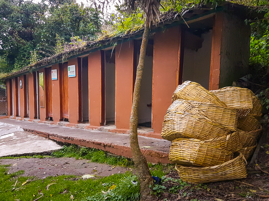 Change rooms - Balneario at the Termas de Papallacta Hot Springs - Ecuador
