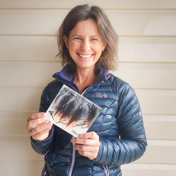 Me with my copy of Nanook's Ataasiusutut Misigissuseq CD