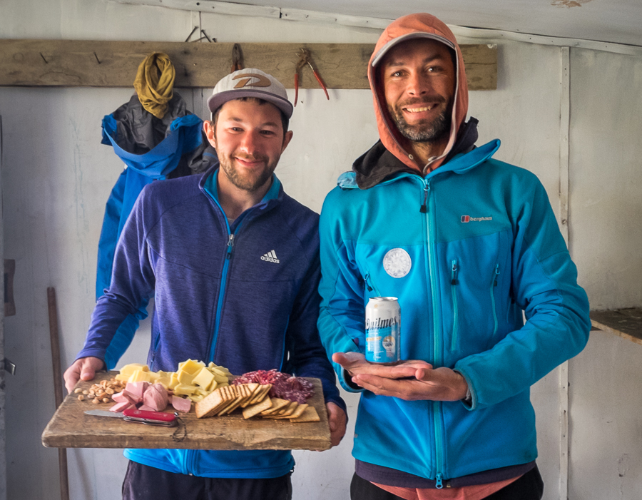 Our guide and assistant guide for the South Patagonia Icefield Expedition - Juan and Rafa
