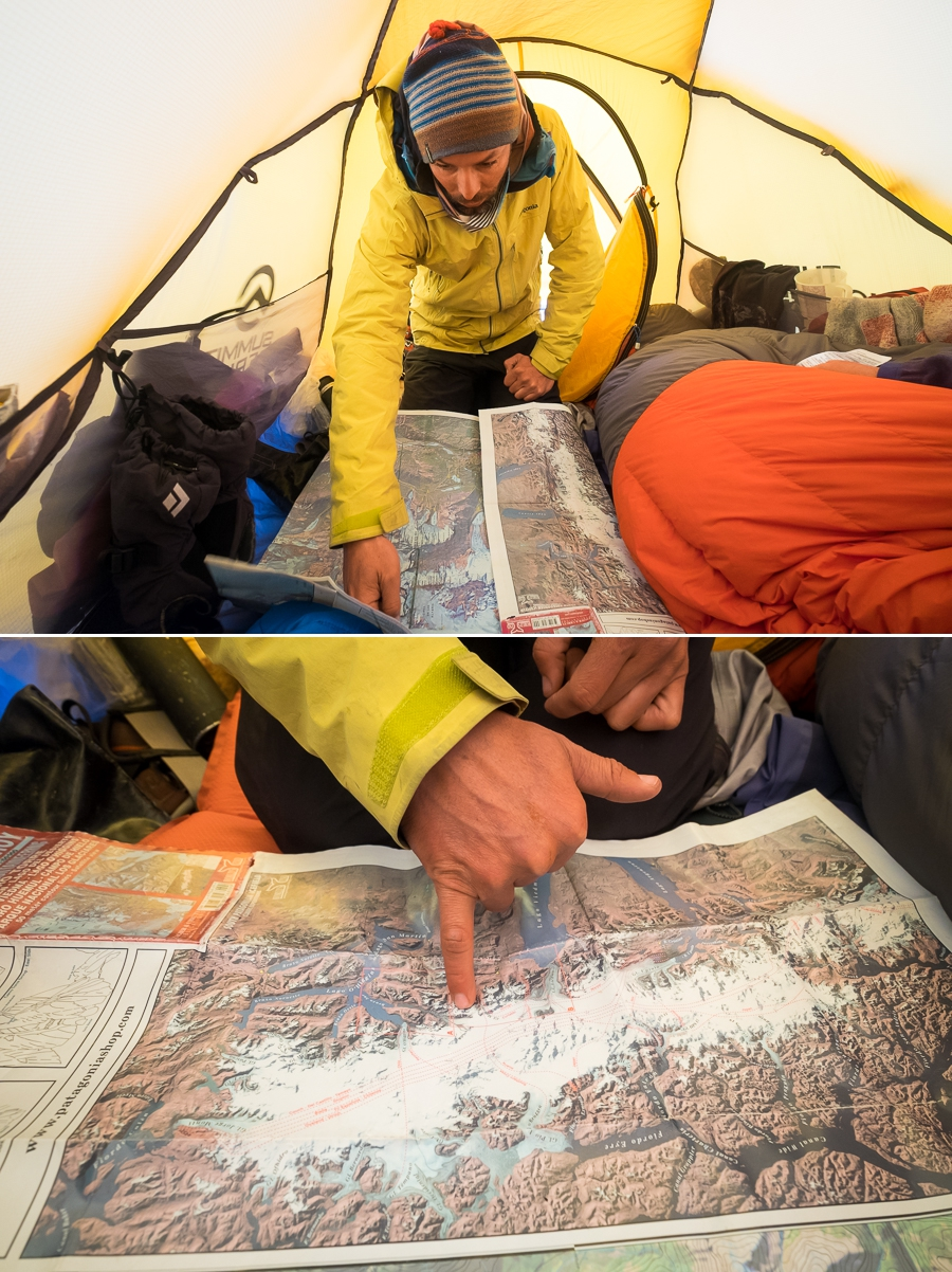 Explaining the plan - South Patagonia Icefield Expedition - Argentina