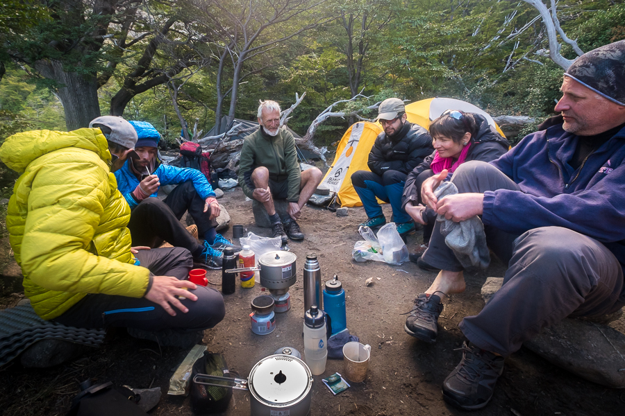 Last dinner - South Patagonia Icefield Expedition - Argentina