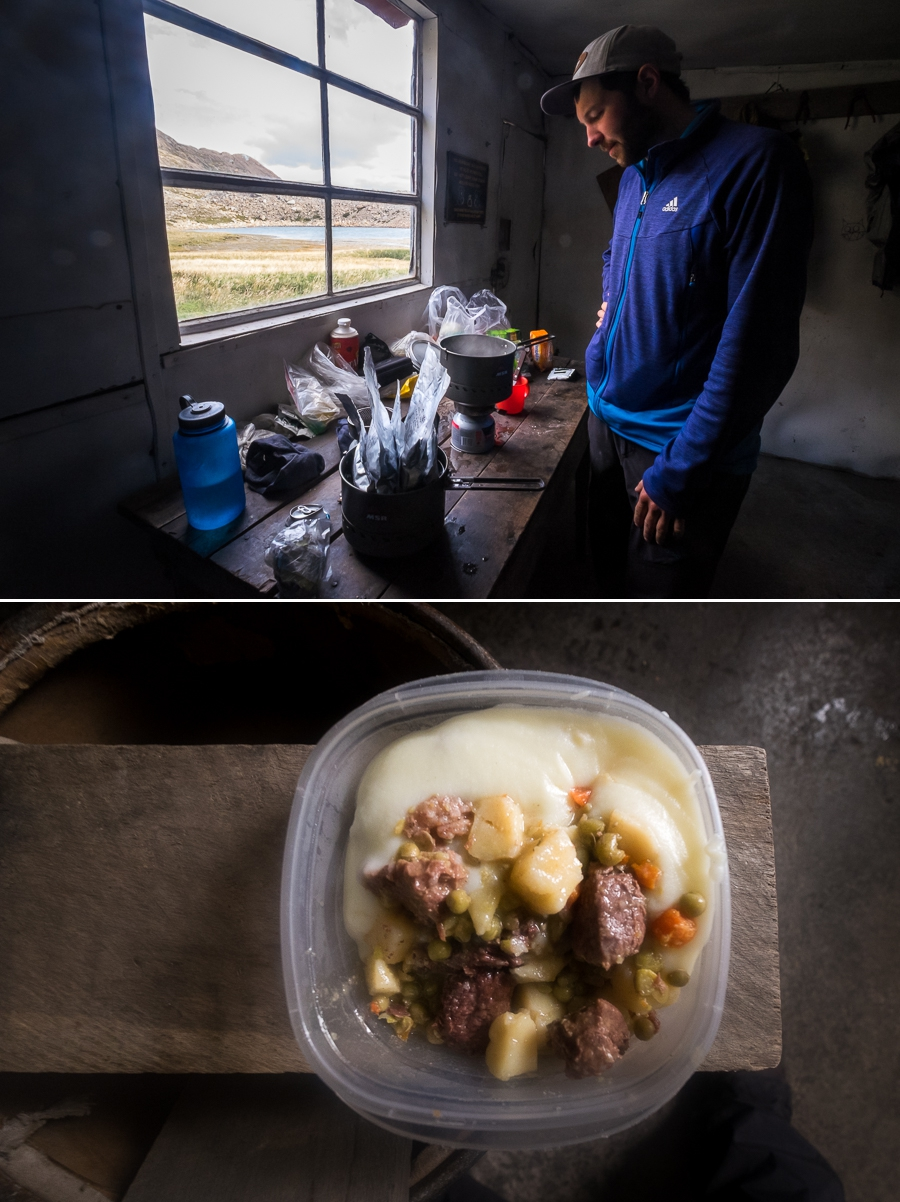 Cooking dinner - South Patagonia Icefield Expedition - Argentina