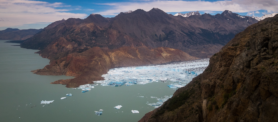 Face of the Viedma Glacier - South Patagonia Icefield Expedition - Argentina