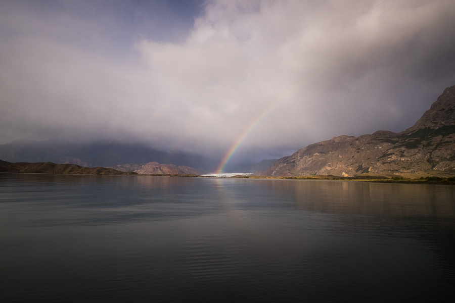 Rainbow over the Viedma Glacier - South Patagonia Icefield Expedition - Argentina