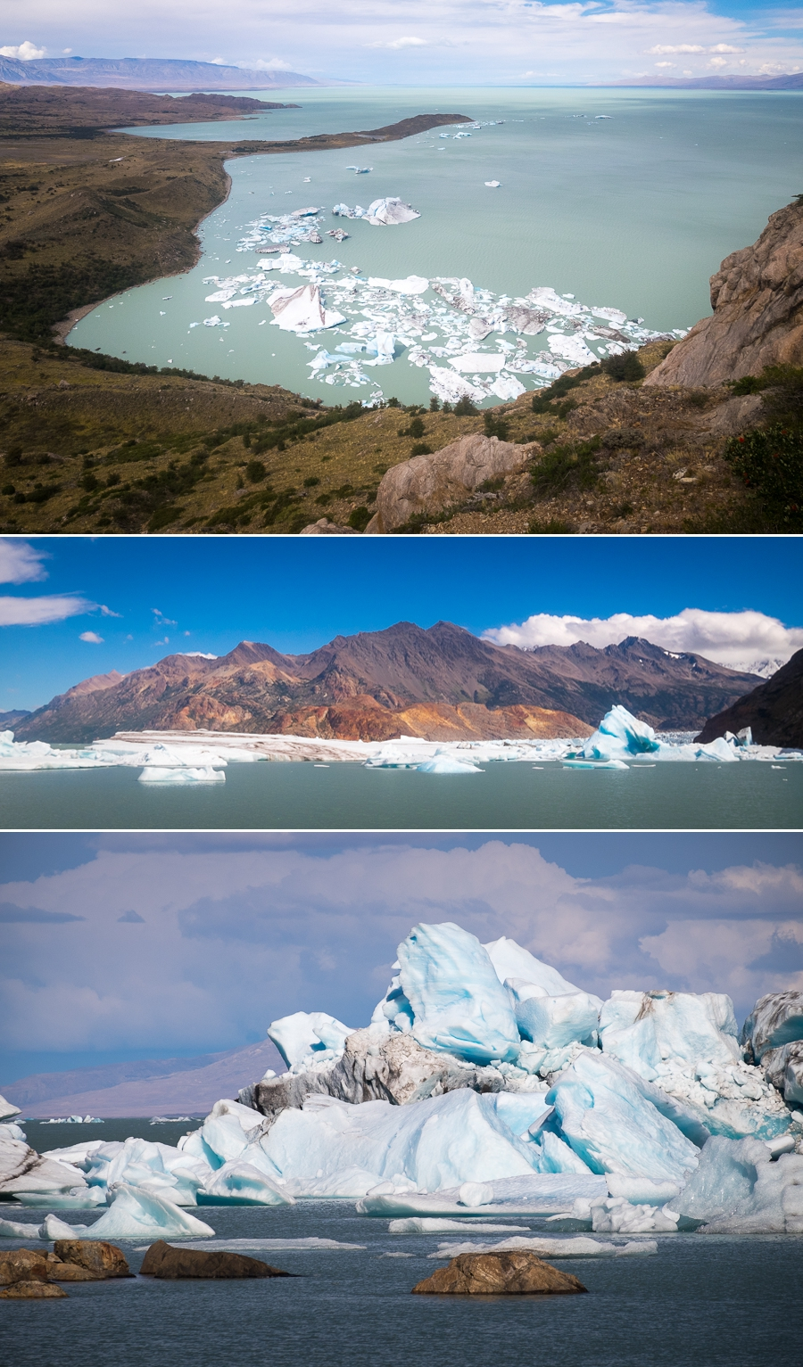Bahía de los Témpanos and its icebergs - South Patagonia Icefield Expedition - Argentina