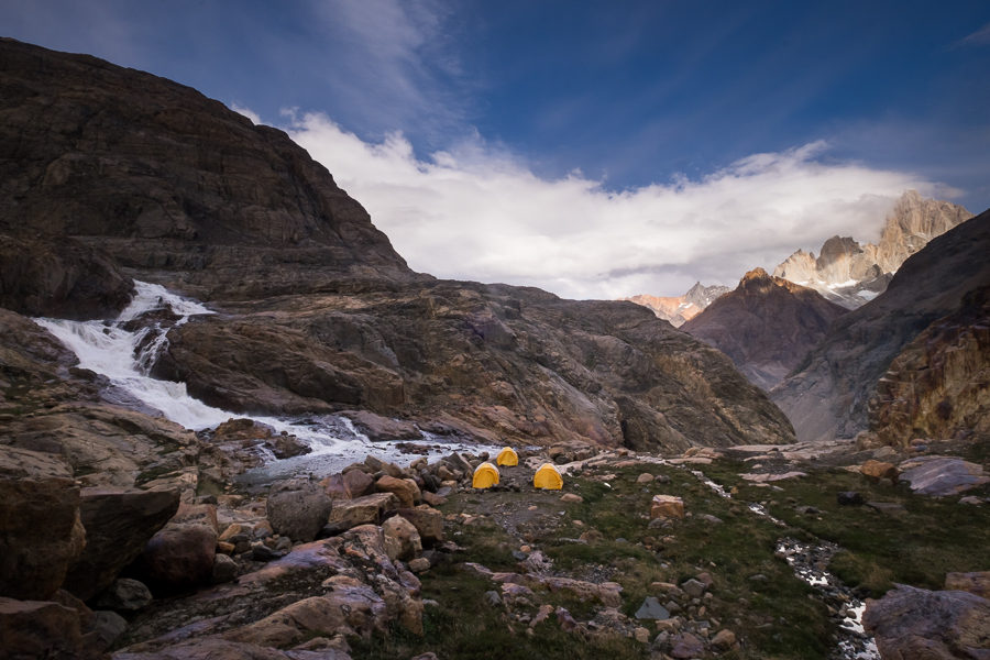 Campsite at Lago 14 - - South Patagonia Icefield - Argentina