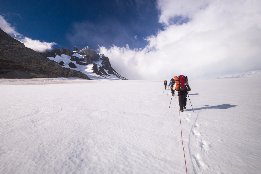 Trekking down the Icefield - South Patagonia Icefield Expedition - Argentina