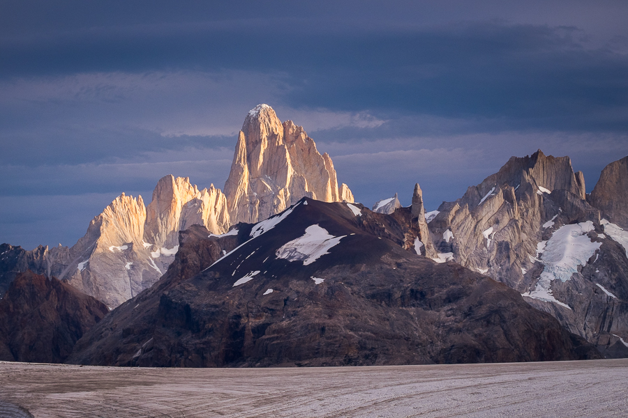 Cerro Fitzroy from the Refugio Garcia Soto - South Patagonia Icefield Expedition - Argentina