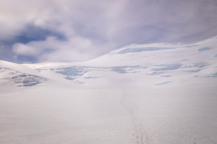 Route to Gorra Blanca Summit - Gorra Blanca - South Patagonia Icefield Expedition - Argentina