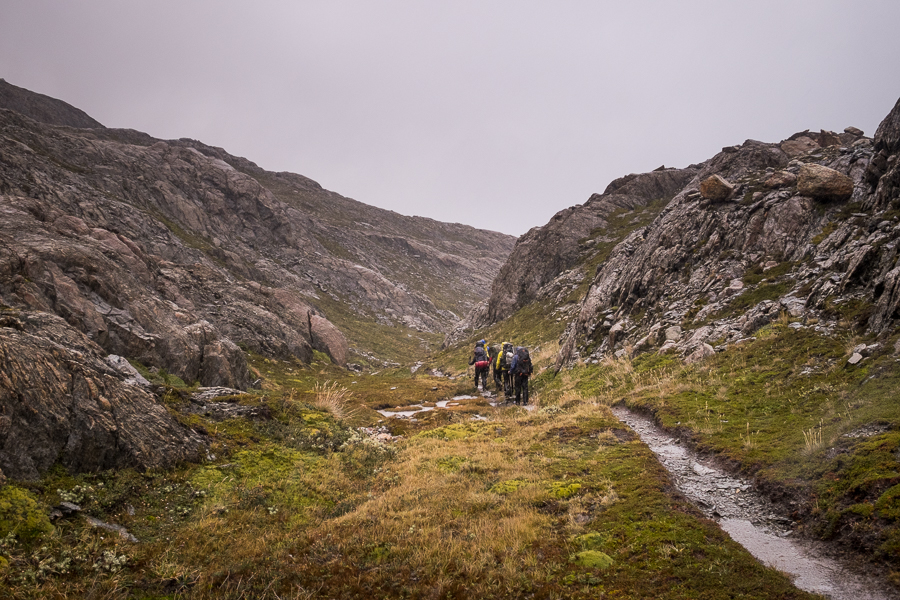 Rainy trail - South Patagonia Icefield Expedition - Argentina