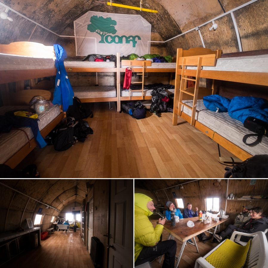 Inside the Refugio Garcia Soto - South Patagonia Icefield Expedition - Argentina