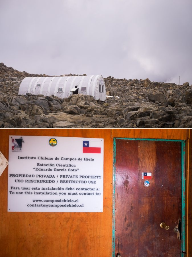 Exterior of Refugio Garcia Soto - South Patagonia Icefield Expedition - Argentina