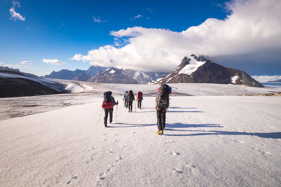 Heading towards the Icefield - South Patagonia Icefield Expedition - Argentina