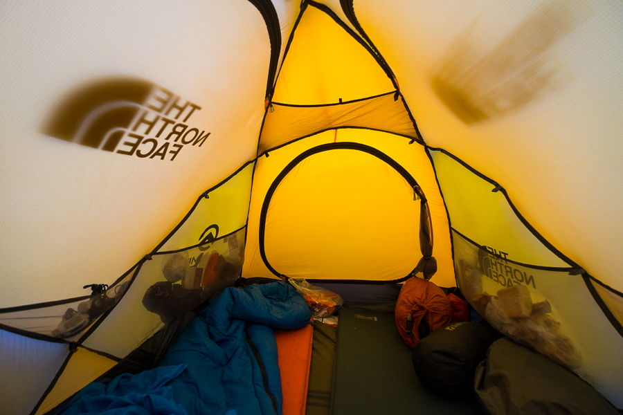 Inside the tent - South Patagonia Icefield Expedition - Argentina